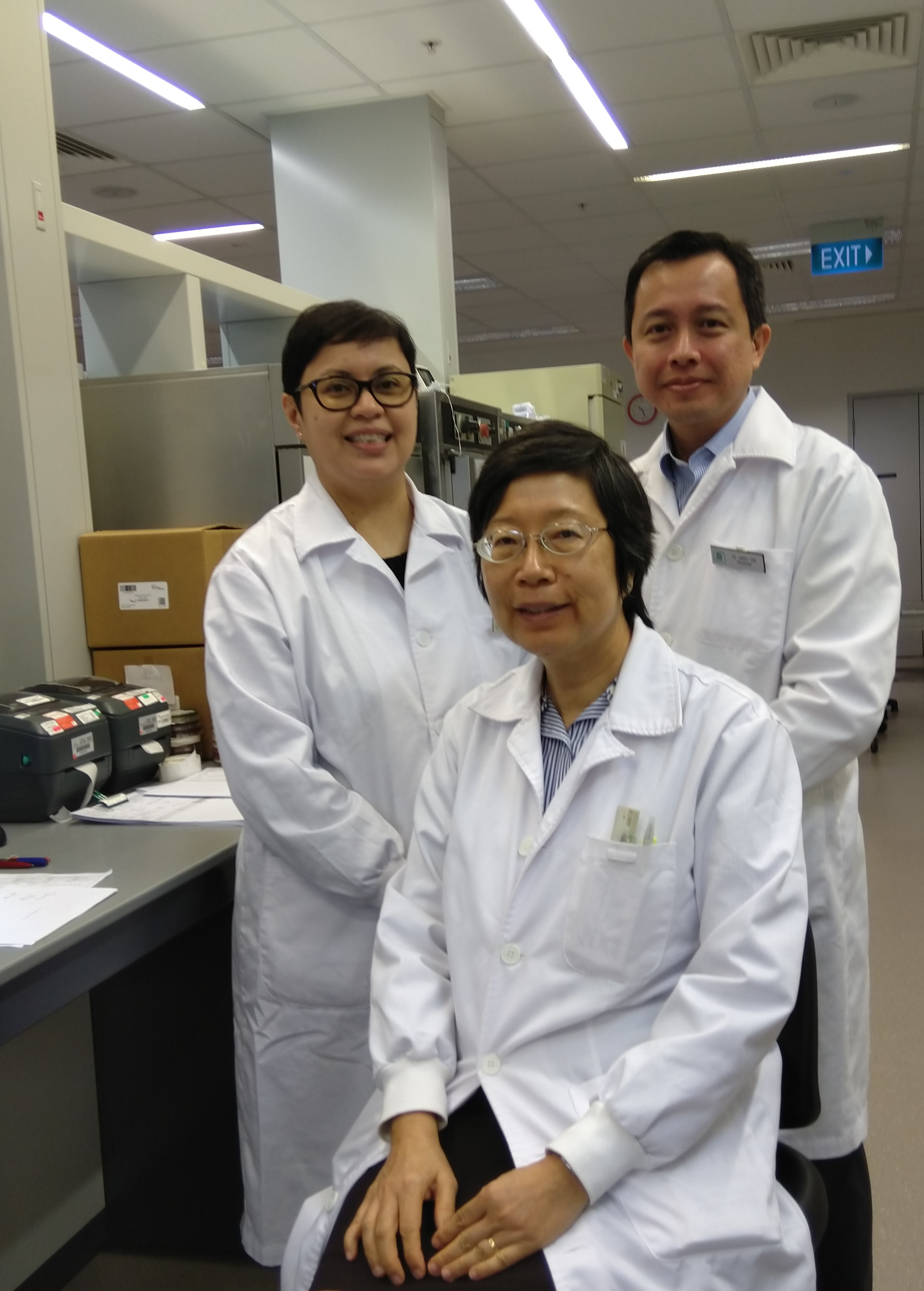 The lab that never sleeps - Singapore National Eye Centre