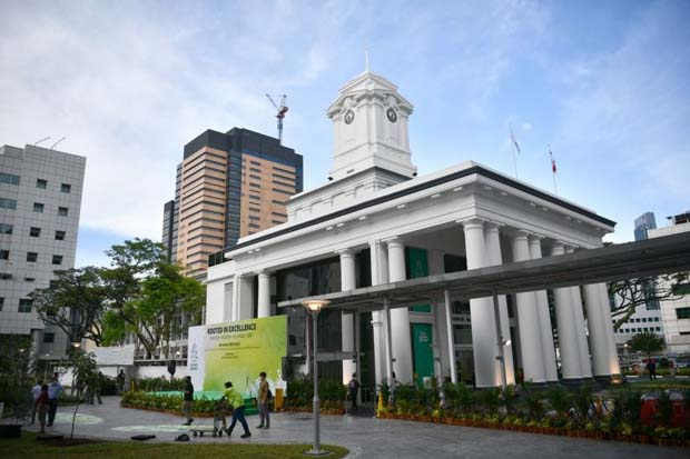 SGH, which was set up 200 years ago, currently ranks among the world's top 10 hospitals.  ST PHOTO ARIFFIN JAMAR