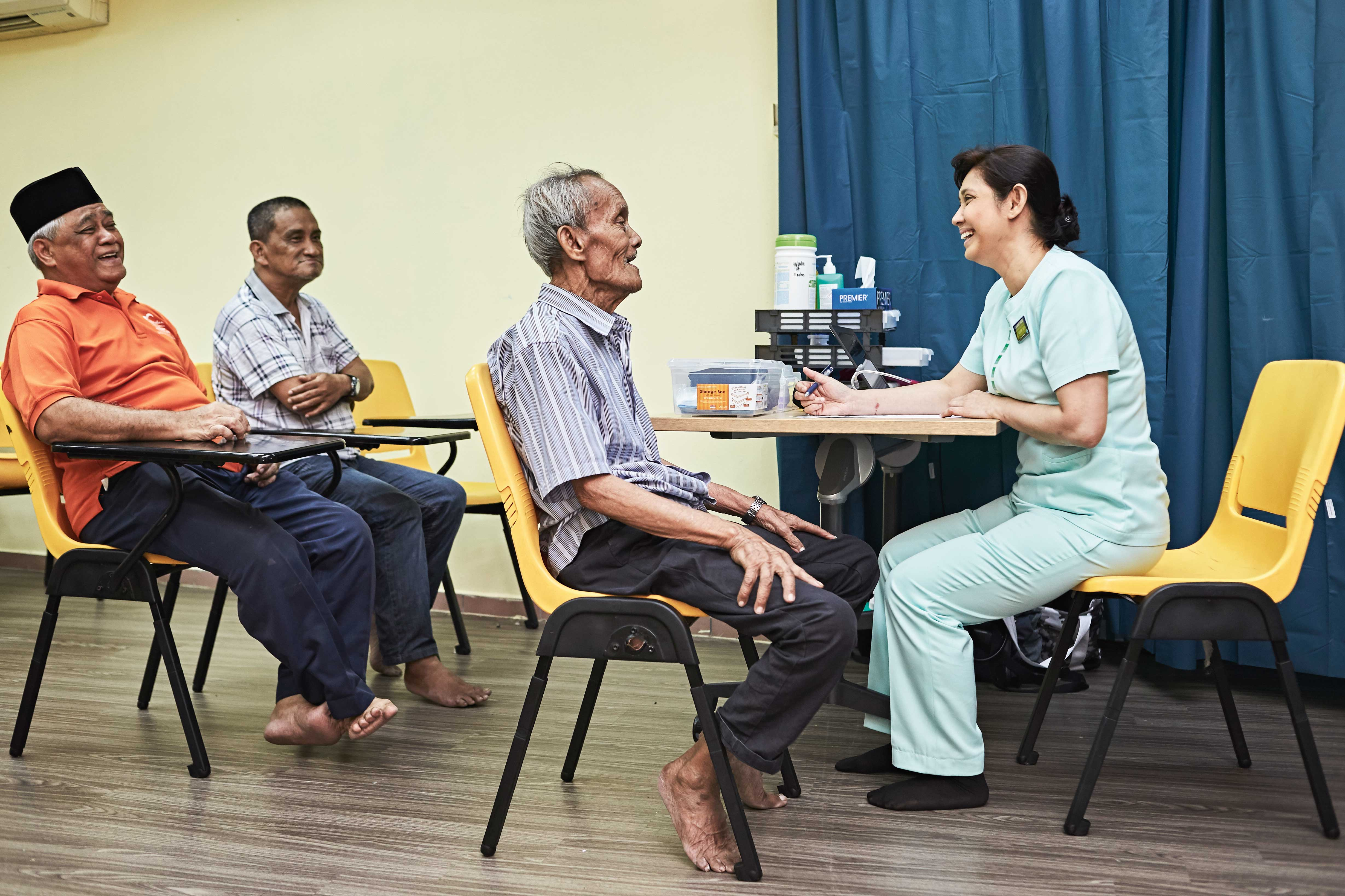 SGH pulls together organisations in the community as partners in health. Together, they create a strong safety net for residents and patients, ensuring they stay healthy and age well at home.