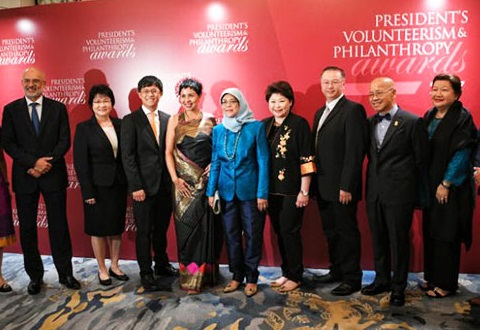 8 individuals and organisations win President's Volunteerism and Philanthropy Awards