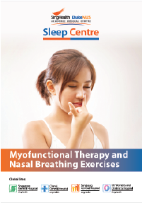 Myofunctional Therapy and Nasal Breathing Exercises