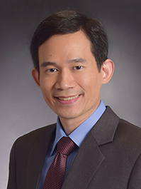 Dr Donny Hoang from Singapore National Eye Centre